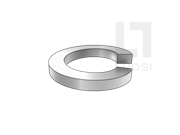 GB/T 93-1987 标准型弹簧垫圈