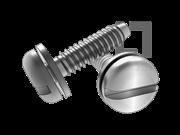 ISO 10510-1999 开槽盘头自攻螺钉和平垫组合F型