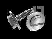 ISO 10510-1999 开槽盘头自攻螺钉和大平垫组合F型