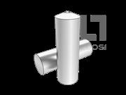 ISO 13918-1998 电弧螺柱焊用焊接螺柱和陶瓷套圈(UD型无螺纹螺柱)