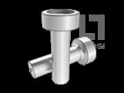 ISO 13918-1998 电弧螺柱焊用焊接螺柱和陶瓷套圈(SD型-A型 平端形状)