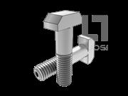 DIN 261-1987 T型带孔螺栓