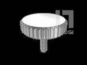 DIN 653-2006 薄型滚花大头螺钉(d≥M2)