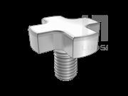 DIN 6367-2003 十字头螺钉(手拧螺钉)