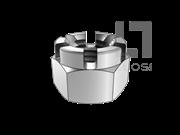 DIN 935-1-1987 开槽皇冠螺母(大对边)
