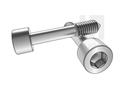 DIN 7964E-1990 内六角圆柱头不脱出螺钉L型长螺纹(锥尾)