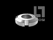 DIN 981-1983 滚动轴承用防松大螺母(1型)