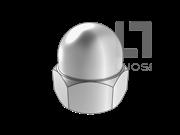 DIN 1587-1987 六角盖形螺母(A型)