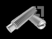 IS 2386-1971 开槽长圆柱端紧定螺钉