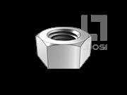 BS 4190-2001 米制六角螺母-单倒角