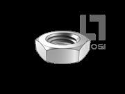 BS 4190-2001 米制六角薄螺母