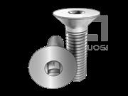 ASME/ANSI B18.6.7M-5-1999 米制四方槽沉头螺钉 表5