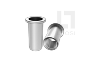 QIB/IND FPS 平头圆柱碳钢铆螺母