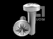 DIN 7985-1990 米字槽球面圆柱头螺钉(Z型槽)