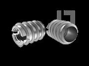 DIN 7965-1965 开槽内外牙螺母
