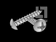 GOST 1144-1980 十字槽圆头木螺钉