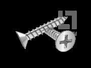GOST 1145-1980 十字槽沉头木螺钉