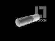 CNS 4574-1981 B型 圆锥端单头栓