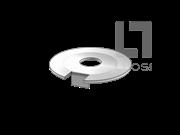 DIN 432-1983 外舌止动垫圈