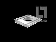 DIN 434-1990 双槽方斜垫圈