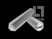 DS 51409-1982 米制开槽锥端紧定螺钉