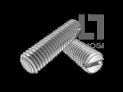 DS 51411-1982 米制开槽平端紧定螺钉