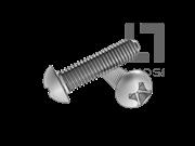 DIN 7500C-2000 十字槽盘头三角锁紧螺钉(H型)