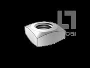 ASME/ANSI B18.2.2-2-2015 四方螺母 表2