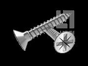 DIN 7505A-1986 米字槽沉头塑料牙螺钉(Z型)