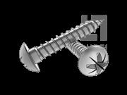 DIN 7505B-1986 米字槽盘头塑料牙自攻钉-(Z型)