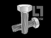 DIN 7513A-1995 六角头切削螺纹螺钉