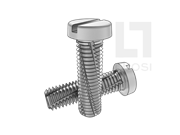 DIN 7513B-1995 开槽圆柱头切削螺纹螺钉