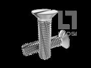 DIN 7513F-1995 开槽沉头切削螺纹螺钉