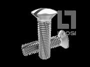 DIN 7513G-1995 开槽半沉头切削螺纹螺钉