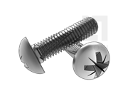 DIN 7516A-1995 米字槽盘头切削螺纹螺钉(Z型)