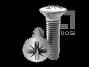 ISO 7047-1994 米字槽半沉头螺钉(Z型槽)