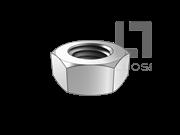 UNI 5713 钢结构用高强度大六角螺母