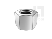 SAE J482-1998 统一螺纹六角厚螺母