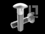 DIN 607-2010 圆头带榫螺栓