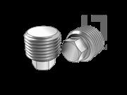 DIN 909-1992 六角头螺塞(d≤18mm)
