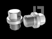 DIN 910-1992 带肩的外六角螺旋塞.重载圆柱螺纹
