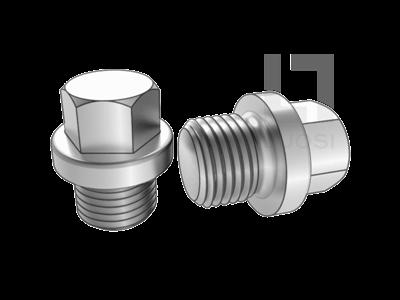DIN 910 外六角锥形型闭锁螺钉
