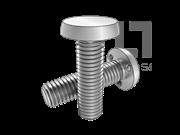 IFI 148-1-2002 U3型平圆头三点下承接面焊接螺钉表 1
