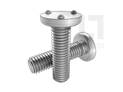 IFI 148-2-2002 T3型平圆头三点式上承接面焊接螺钉表 2