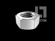 HG/T 20613-2009 钢制管法兰用紧固件-2型六角螺母 细牙