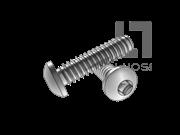 IFI 502-1982 B牙四方槽盘头自攻螺钉表12