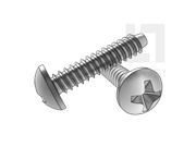 H型十字槽盘头自攻螺钉F型
