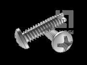 H型十字槽盘头割尾自攻螺钉FT型