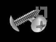 H型十字槽扁圆头自攻螺钉C型