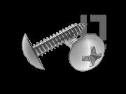 H型十字槽大球面头自攻螺钉C型